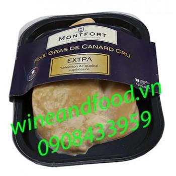 Gan vịt thượng hạng nguyên miếng Montfort 426g