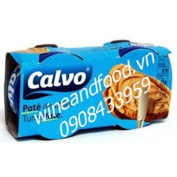 Pate cá ngừ Calvo 2x75g