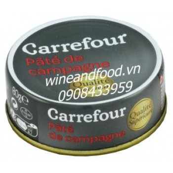 Pate campagne Carrefour 80g