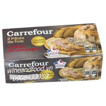 Pate Foie Carefour lốc 2