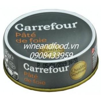 Pate foie Carrefour 80g