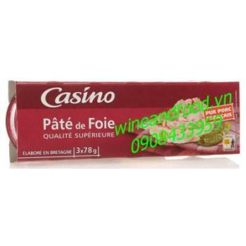 Pate Foie Casino 3x78g