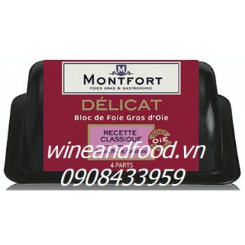 Pate gan ngỗng Montfort 160g