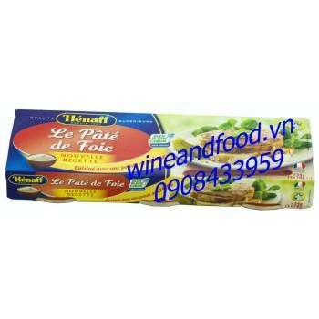Pate foie Henaff lốc 3 234g