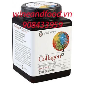 Collagen Youtheory type 123 290 viên