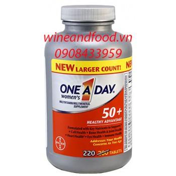 Viên bổ sung vitamin cho nữ One A Day 50+