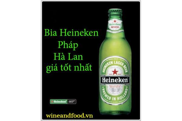 Bia Heineken Pháp Hà Lan giá tốt nhất mua ở đâu