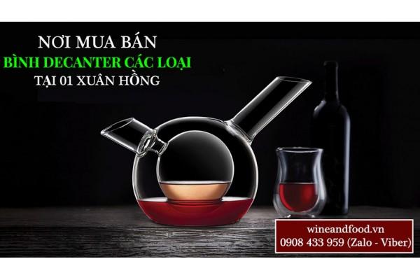 Nơi mua bán bình Decanter rượu vang