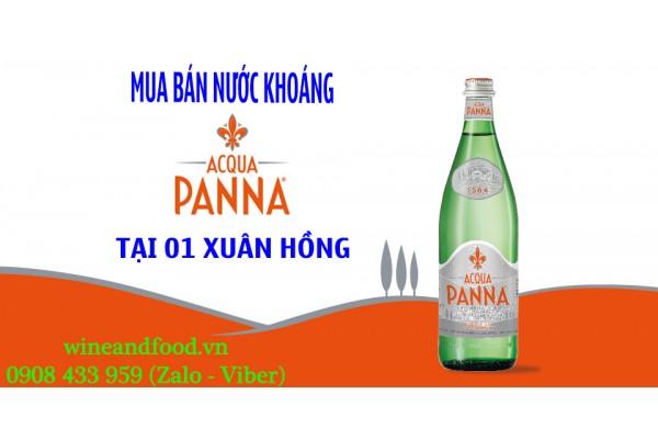 Bán nước khoáng Acqua Panna tại 01 Xuân Hồng