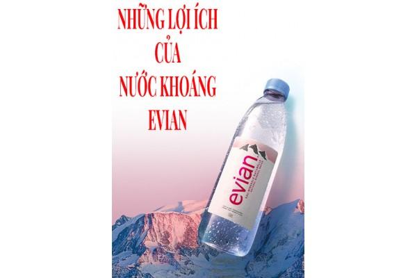 Những lợi ích của nước khoáng Evian bạn nên biết