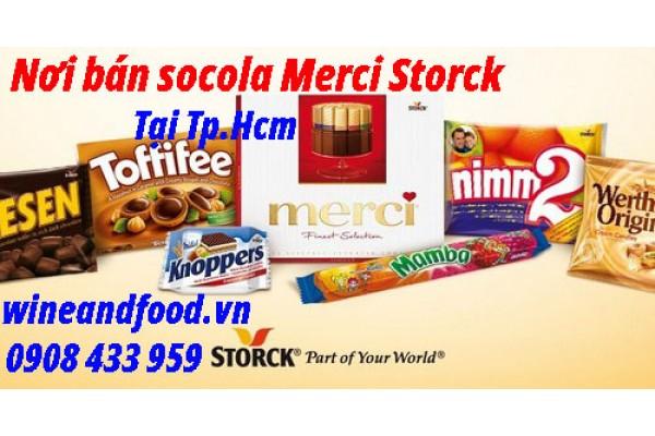 Nơi mua bán Socola Đức Merci Storck tại TpHcm