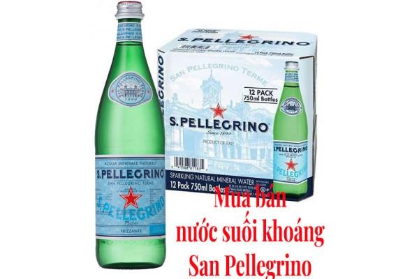 Nơi mua bán nước suối khoáng San Pellegrino (S.Pellegrino)