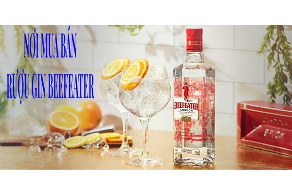 Nơi mua bán rượu Gin Beefeater