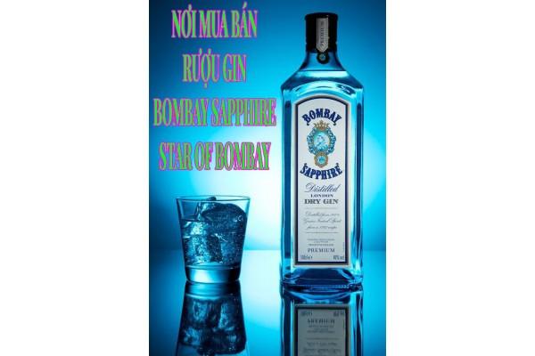 Nơi mua bán rượu Gin Bombay Sapphire - Star of Bombay