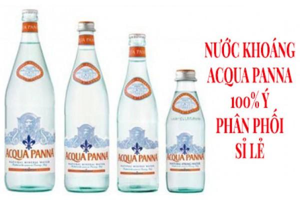 Nước khoáng Acqua Panna 100% Ý – Phân phối sỉ lẻ
