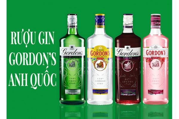 Rượu Gin Gordon's Anh Quốc