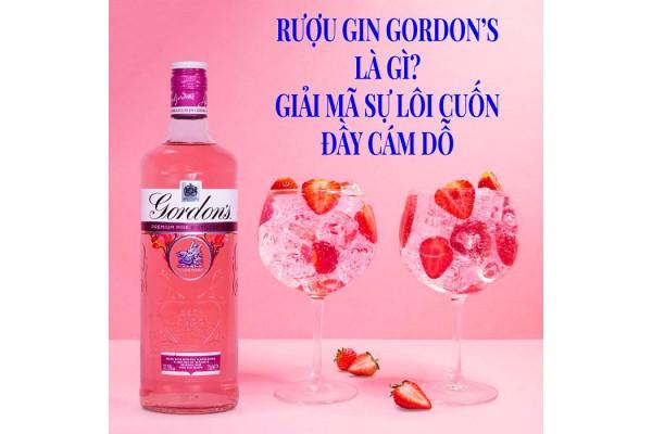 Rượu Gin Gordon's là gì? Giải mã sự lôi cuốn đầy cám dỗ