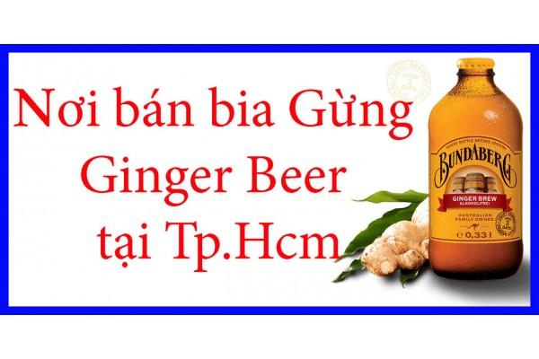 Nơi bán Bia Gừng – Ginger Beer tại tphcm