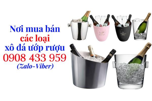 Nơi mua bán xô đựng đá ngâm ướp rượu các loại tại Tp.Hcm