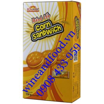 Bánh Bắp Corn Sanwich Sunrise 150g