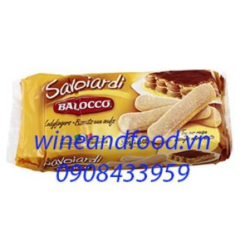 Bánh Champagne bao đường Savoiardi Balocco 200g