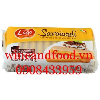 Bánh Champagne Lady Fingers Gastone Lago Savoiardi 200g