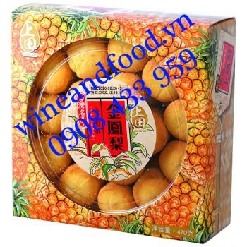 Bánh dứa Yeou Bin Đài Loan 470g