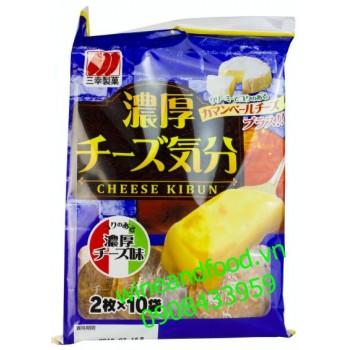 Bánh gạo phô mai Nhật Bản