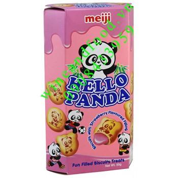 Bánh Hello Panda dâu 50g