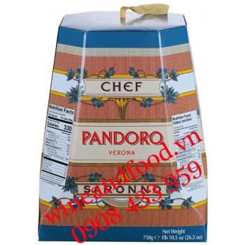 Bánh Cake giáng sinh Pandoro Verona Chef 750g