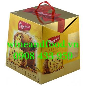 Bánh Cake Giáng Sinh Panetton Bauducco 908g