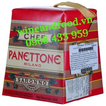 Bánh Cake Giáng Sinh Panettone Milano Chef 100g