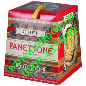 Bánh cake  giáng sinh Panettone Milano Chef 500g