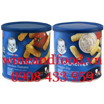 Bánh ăn dặm Gerber Lil' Crunchies 42g