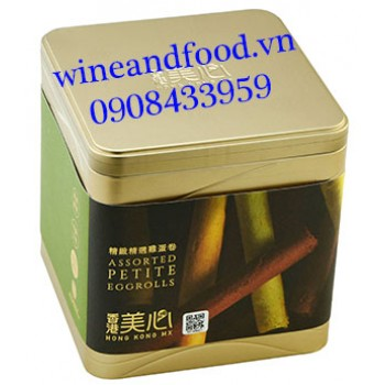 Bánh cuộn vị trứng Mei-Xin hộp 208g