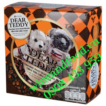 Bánh Dear Teddy socola cà phê 150g