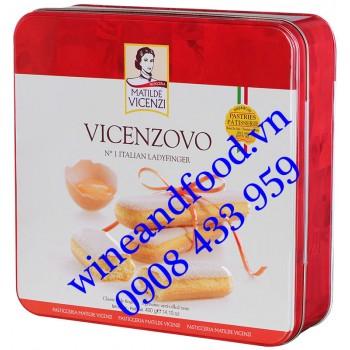 Bánh Ladyfinger Vicenzovo Matilde Vicenzi hộp thiếc 400g