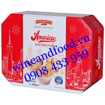 Bánh quy American Distinctive Chessmen & Milano Pepperidge Farm 376g