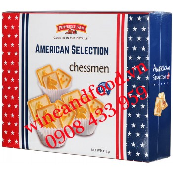 Bánh quy American Selection Chessmen Pepperidge Farm 412g