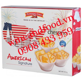 Bánh quy American Signature Chessmen Pepperidge Farm 412g