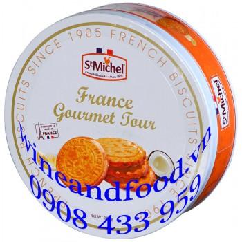 Bánh quy bơ France Gourmet Jour St Michel hộp thiếc 150g
