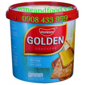 Bánh quy bơ Golden Monesco 360g