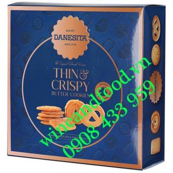 Bánh quy bơ Thin & Crispy Danesita 400g
