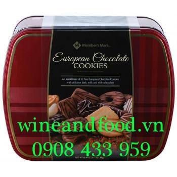 Bánh quy European Shortbread socola hỗn hợp Member's Mark 1kg4