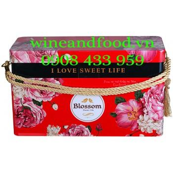 Bánh quy hỗn hợp Blossom Kalev Snack box 628g