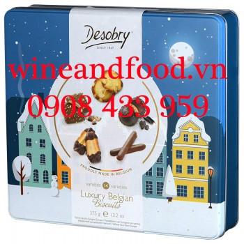 Bánh quy hỗn hợp Desobry Luxury Belgian Biscuits 375g