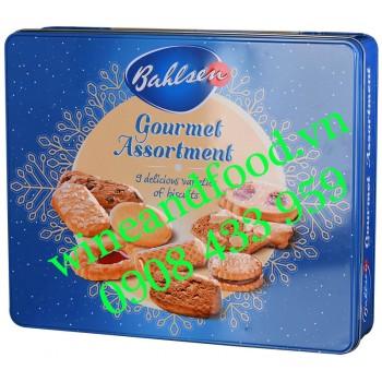 Bánh quy hỗn hợp Gourmet Assortment Bahlsen hộp thiếc 400g