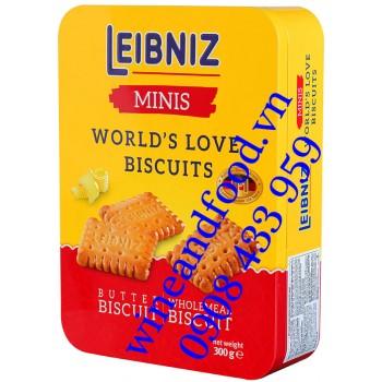 Bánh quy Leibniz World's Love Biscuits hộp 300g