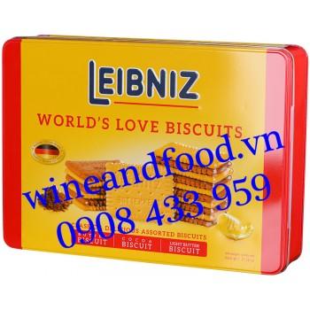 Bánh quy Leibniz World's Love Biscuits hộp 600g