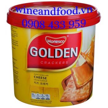 Bánh quy phô mai Golden Monesco 360g